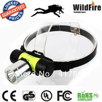 BEST quality CREE T6 heavy duty diving headlamp