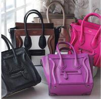 New 2014 Women's Smiley Handbags Cross pattern Bags Handbags Women Wallets Brand Women Messenger Bags,Free Shipping