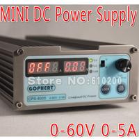Free shipping Wholesale precision Compact Digital Adjustable low power DC Power Supply OVP/OCP/OTP 110V/230V 60V/5A MCU control
