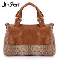 Autumn casual 2013 the trend of fashion bag print canvas handbag women's bags