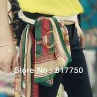 2014 fashion summer desigual high quality silk scarf for women  shawls min order is $10 GU001/2