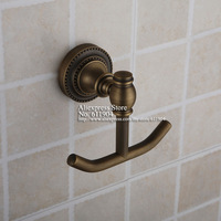 Wall Mounted Antique Brass Finish Towel Coat Robe Hook 3211301