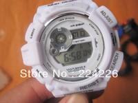 lowest price with free shipping *white* GW9300 sport watch gw 9300 Brand New fashion latest watch ,best quality