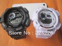 lowest price Mix colour 2pcs GW9300 sport watch gw 9300 Brand New fashion latest watch ,best quality