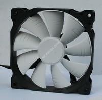 MY FFS Mute black box white leaf 120MM 12025 case cooling fan
