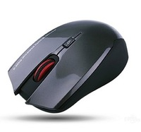 Free shipping Et d10 wireless mouse performance power saving notebook small mouse battery