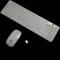 Free shipping 1 wireless keyboard and mouse set wireless set