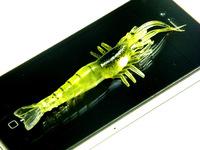 10Pcs Big 3.5inch 9cm Fishy Smell Shrimp Fishing Lure Soft lure