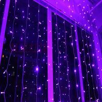 3*2m  Led curtain lights led lights flasher mantianxing lighting string lighting Christmas decoration lamp