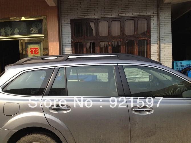 aluminium alloy OEM auto parts for Subaru OUTBACK 2010-2014 original style car body parts roof rack bar free shipping DHL,FedEx(China (Mainland))