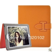 For ipad mini YAMEISI Flip leather case with stand & sleep function Luxury case cover card hold free shipping