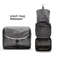 Free Shipping! New Grey wash bag travel portable bath package waterproof storage bag F685