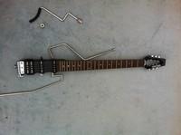 EMS free ship Carry travel ministar mini guitar quieten shaking guitar electric  guitar custom silent mute guitar electric