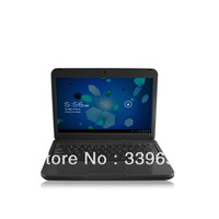 Free Shipping 10 Inches Android Notebook Pc Android Laptop 1GB Memory 1024*600 HD Screen Dual Core Tablet Mini Pc Wifi Computer