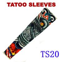 Nylon Stretchy Roch UV Tattoo Sleeve Arm Stockings Punk Free Shipping