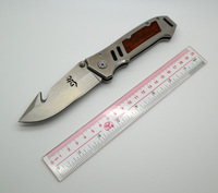 Browning Survival Folding Knife With Stainless Steel Handle Outdoor Camping Knives