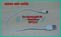Micro usb cables 30cm white pure copper 5pin V8 cables for BlackBerry/samsung/htc/lg/nokia 100pcs/lot