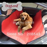 Free shipping!  Waterproof Cradle Dog Car Rear Back Seat Cover Pet Mat Blanket Hammock Cushion Protector