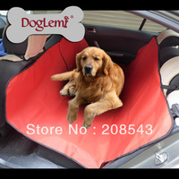 Free shipping!  Waterproof Cradle Dog Car Rear Back Seat Cover Pet Mat Blanket Hammock Cushion Protector