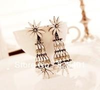 Fashion exaggerated earrings elegant daisy all-match earrings national trend earrings long design earrings bohemia