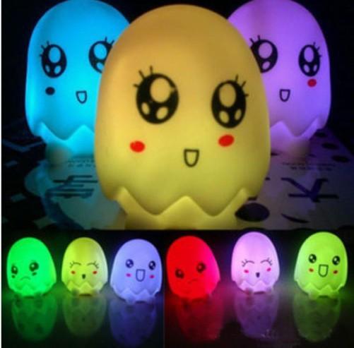 Cheap Cute Egg-shaped Night Light, Christmas LED Atmophere Light,Party Decor Lamp(China (Mainland))
