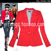 Coco bongo2013 spring and summer women's midsweet ol elegant slim women's outerwear blazer