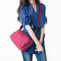 6.5 women's handbag casual bag water wash nylon bag women's bag shoulder bag women's handbag messenger bag