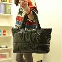 2013 space bag down bags cotton-padded jacket bag women's handbag casual shoulder bag handbag large bag