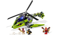 Bela Ninjago green Rattlecopter 9757 Building Block Sets Ninja  Educational Jigsaw Construction plastic diy brick toys for kids