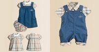 Wholesale 2014  fashion baby boys Girls 4pcs set  baby clothing set romper+socks+bibs+ bags set  Free shipping