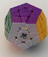 10pcs/lot Dayan Megaminx  Stickerless withOUT Corner Ridges SUPR GREAT QUALITY+ Free Shipping