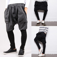 2014 spring male trousers harem pants sports pants casual pants male trousers