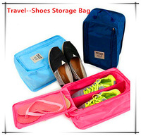 Free Shipping New 2014 Travel Pouch Waterproof Portable Shoes Storage Bags Sneakers Storage Bag Shoes organizer
