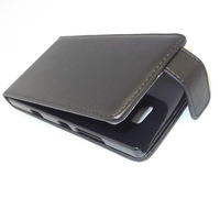 Black Flip Leather Case Cover Pouch + LCD Film For Nokia Lumia 929