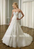 New White/ivory Wedding dress Bride Dress Gown Custom Size2 4 6 8 10 12 14 16++