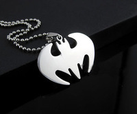 free shipping Fashion male necklace titanium necklace fly pendant