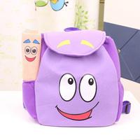 2014 New Arrival Children Cartoon Bag Cut Girl Jelly Candy bag Dora Kids Backpack Desigual School backpacks Free Shipping