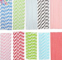 Free shipping 14 colors straws,mixed Striped/polka Dot/health/Drinking Paper Straws 50pcs/lot,Wholesale & Retial