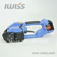 DD160 Battery-powered PET Strapping Tools for pallets, bales, crates, cases, various packages