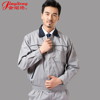 work wear long-sleeve workwear male set protective clothing tooling uniform  free shipping