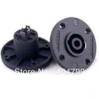 10pcs,4-Pole Speaker Chassis Socket Plug FOR DJ Speakers,2721