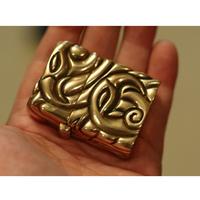 T0768 OGRM Orgrimmar Bronze Lighter Outer Covering Totem Pattern Fine Collection