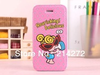 Bulk Order For High quality Hysteric mini Nipple sister leather flip cartoon case samsung galaxy s4 i9500 phone