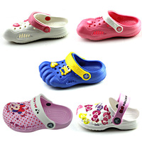 2012 child slippers male female child baby home slippers hole shoes cartoon shoes