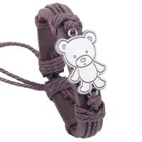 Free shipping! Cute fashion decorative leather bracelet, Trendy casual charm bracelet, Hot Sales!
