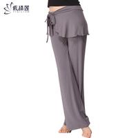 Yoga clothes trousers slim dance practice pants yoga pants small skirt twinset 12002 122