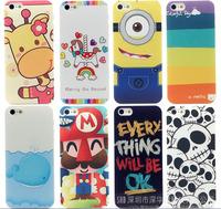 case for iphone 5 case , Despicable Me 2 Minions Minion , Blue whale , Cute Skull Head , be OK , giraffe , Super Mario