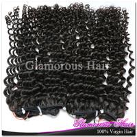3 Bundles 6A Grade Peruvian Hair Weave Natural Black 1B / Dark Brown Ombre Hair Body Wave Hair Weaving
