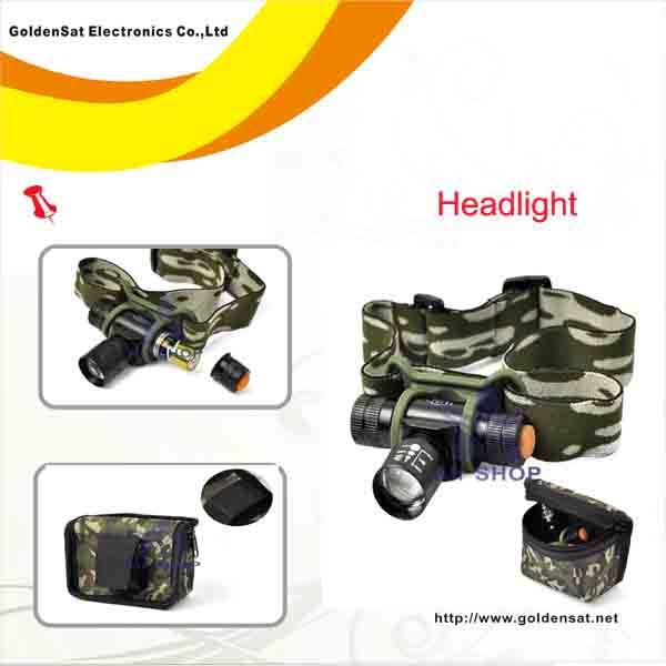 [해외]사냥 캠핑 파롤의 YTK0219에 대한 300Lumens 크리 Q6 LED..