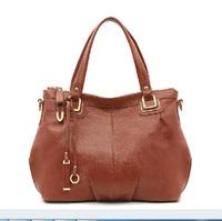100% Genuine Leather Shoulder Bag Fashion 2015 Women Leather Handbag Cowhide Crossbody Bag Bolsas Women Messenger Bags Hot Tote
